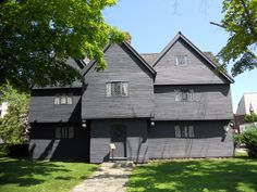 Witch House, Salem, MA,c1642  aka Judge Jonathan Corwin House, one of the judges in the Salem Witch Trials.
