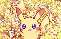 Super Cute Yellow Pokemon!