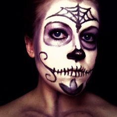 Pin for Later: Celebrate Halloween on a Budget With Inspiration From Instagram Memorable Makeup