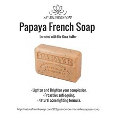 Lighten and Brighten Your Skin with Natural #FrenchSoap please share this :)