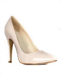 Patent Leather Pointed Toe High Heels