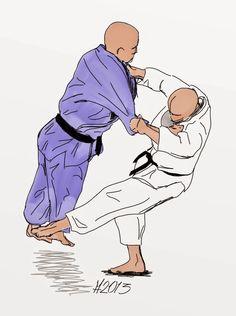 Okuriashi-harai: Following foot sweep