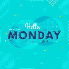 "FREE INSTAGRAM ""HAPPY MONDAY"" PHRASES Hello Monday, Happy Monday, Free Instagram, Animation, Lettering, Logo, Movie Posters, Movies, Knowledge"