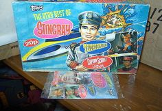 #thunderbirds stingray  scarlet trading cards box #sealed #gerry anderson,  View more on the LINK: 	http://www.zeppy.io/product/gb/2/152147150840/