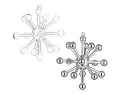 Glass Sputnik Ornaments | CB2 | Christmas Tree Ornaments