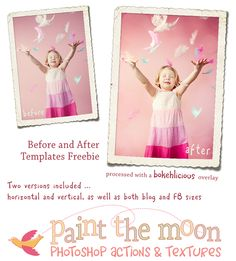 Freebie Actions....now I just need a newer version of Photoshop elements!