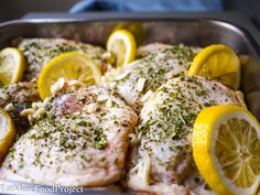 Garlicky Lemon Chicken - The Eat More Food Project