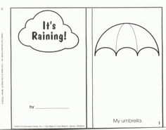 Squish Preschool Ideas: Month of March Ideas- Clouds, Cotton, Rain Preschool Weather, Weather Activities, Preschool Literacy, Preschool Ideas, Teaching Ideas, Mom's Day Out, Peace At Last, Thematic Units, Education Center