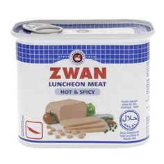 Buy online #Zwan Luncheon Meat #Hot And Spicy 340 Gm #Canned Meat @ luluwebstore.com for AED11.25