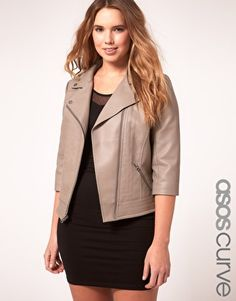 ASOS Curve Biker jacket