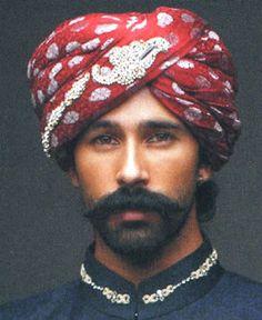 T5025 Turban 5025 Groom Wedding Turbans Tallahassee Florida, Royal Rajashahi Turbans Tampa Florida $200