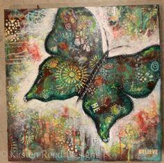 several art tutorials from keystrokes & kaleidoscopes