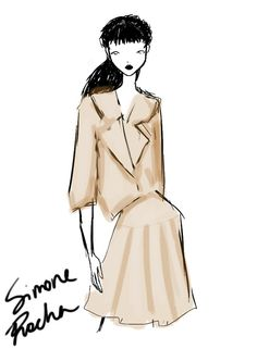 Simone Rocha London Womenswear S/S 2013 by Rei Nadal.