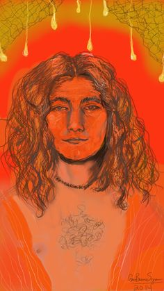 Robert Plant: red-hot in his youth.