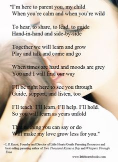 'The Gentle Parent: Positive, Practical, Effective Discipline' by L.R.Knost www.littleheartsbooks.com