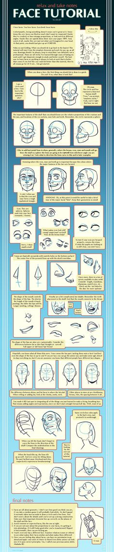 Face Tutorial by shingworks on deviantART