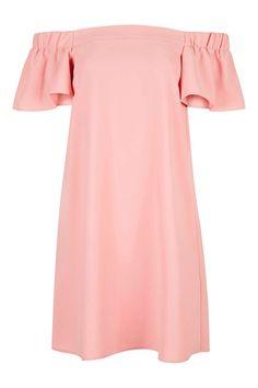 Topshop | Structured Bardot Dress | WedLuxe Magazine | #wedding #luxury…