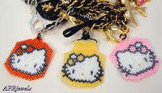 Hellow Kitty/Bag Charm/Purse Charm/Key Chain/Sell Phone Charm on Etsy, $12.00
