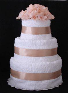Unique Towel Cakes | Unique Gift Cakes N' More by GiGi - Towel Cake Prices & Checkout