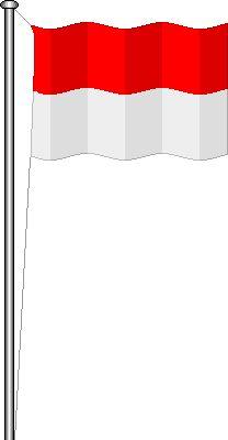 Gambar animasi bendera Indonesia, Indonesian flags, gambar bendera merah putih