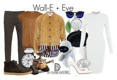"""Wall-E + Eve"" by leslieakay ❤ liked on Polyvore featuring Department 5, Tyler & Tyler, Skagen, Topman, Dinh Van, Lambertson Truex, Loewe, AX Paris, Splendid Pearls and Lucien Piccard"