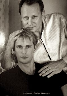 Alexander & Stellan Skarsgård............Father & son