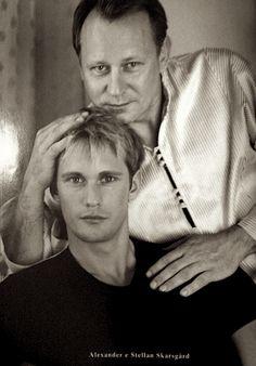 Stellan Skarsgård: John Stellan Skarsgård (born 13 June 1951) with Alexander