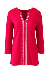 Women's Embroidered Tunic Top