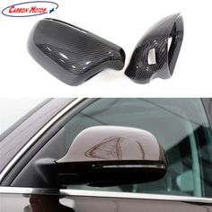 Carbon Fiber Tape-on Mirror Covers for 2007-2012 BMW X5M 2008 2009 2010 2011 0
