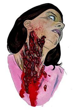 zombie attackwound art
