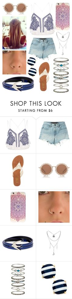 """Miles Away"" by kaitlyncliffxrd ❤ liked on Polyvore featuring River Island, T By Alexander Wang, Charles Albert, House of Holland, McQ by Alexander McQueen, Accessorize and Kate Spade"