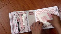Kaisercraft Baby Girl Mini Album: PitterPatter, Bundle of Joy