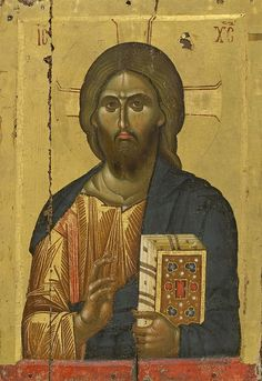 Monastery of Vatopedi, Agion Oros Byzantine Icons, Byzantine Art, Anima Christi, Christ Pantocrator, Images Of Christ, Paint Icon, Jesus Painting, Religious Paintings, Biblical Art