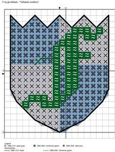 alfabeto araldico F