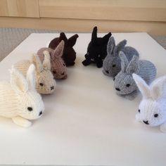 Henry's Rabbit - Free Knitting Pattern