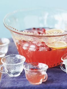 Summer Punch Recipes - How to Make Party Punch at WomansDay.com - Woman's Day