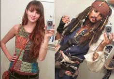 This is why I have respect for cosplayers-they turn themselves into different people. It's amazing