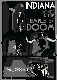 Indiana Jones & the Temple of Doom inspired by CultGraphics