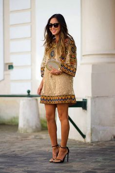 BEAUTYFASHION: Paris Ready To Wear Spring/Summer 2015 - Chic Street Style