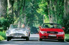 Auto-Union 1000sp and Audi A4