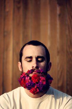 Hipster Jeff |  Flower Beard