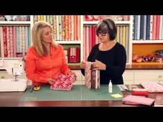 How to Make a Quilted Bible Cover | with Jennifer Bosworth of Shabby Fabrics - YouTube