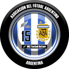 DNZ Football Buttons: Seleção da Argentina