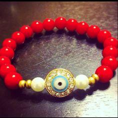 Red + Lucky Eye