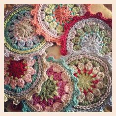 Crochet coasters | Flickr - Photo Sharing!