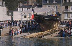 18 avril 1987 - lancement de la Cancalaise