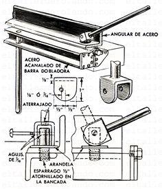 Sheet Metal Bender, Sheet Metal Brake, Metal Bending Tools, Metal Working Tools, Aluminum Welding Rods, Welding Cart, Electronic Circuit Projects, Metal Forming, Garage Tools