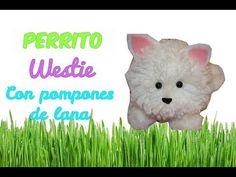Como se hace un perrito Carlino con Pompones de lana - La perrita que tiene Yuya - Isa ❤️ - YouTube