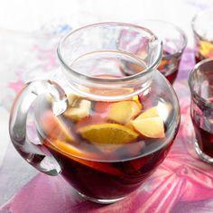 Découvrez la recette Sangria espagnole sur cuisineactuelle.fr.