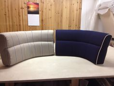 Before and After - 36 Jetboat cushions